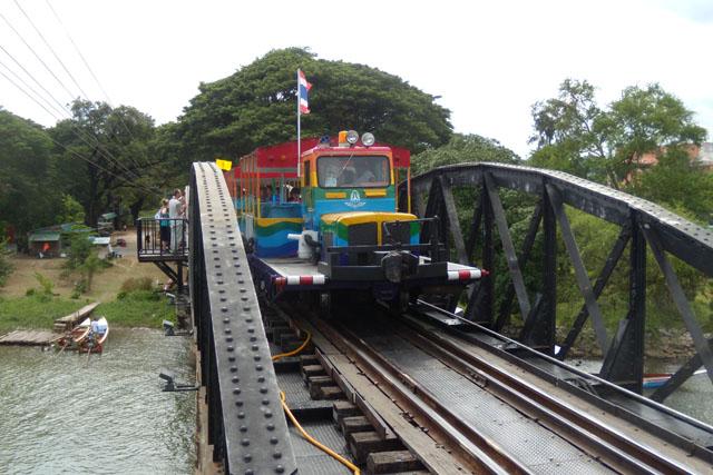 Kway river bridge, Kanchanaburi, Thailand