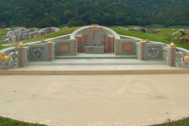 китайское кладбище в Таиланде