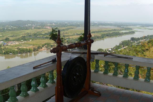 viewpoint, Wat Tham Seua, Kanchanaburi ,Thailand