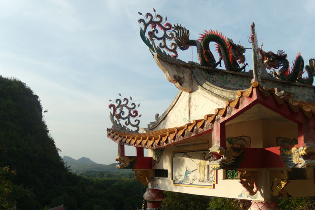 Wat Tham Mangkon Thong, Kanchanaburi ,Thailand