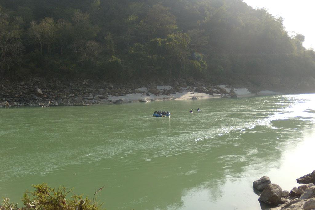 Ришикеш, рафтинг, река Ганга