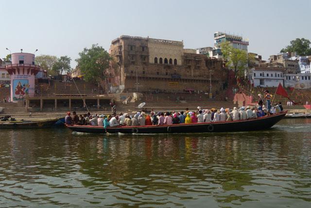 varanasi, india, gang river