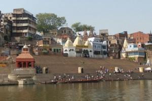 ghat, varanasi, india