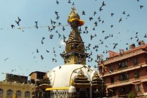 Kathmandu, stupa Budha eyes