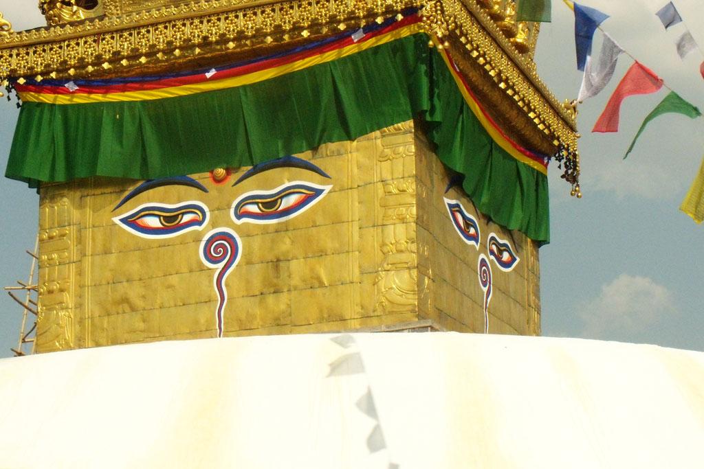 Kathmandu, Budha eyes
