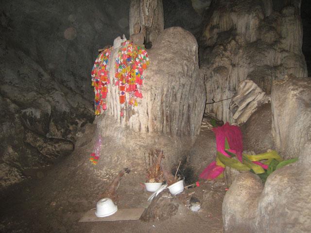 cave of tiger, Wat Tham Seua, Kanchanaburi ,Thailand