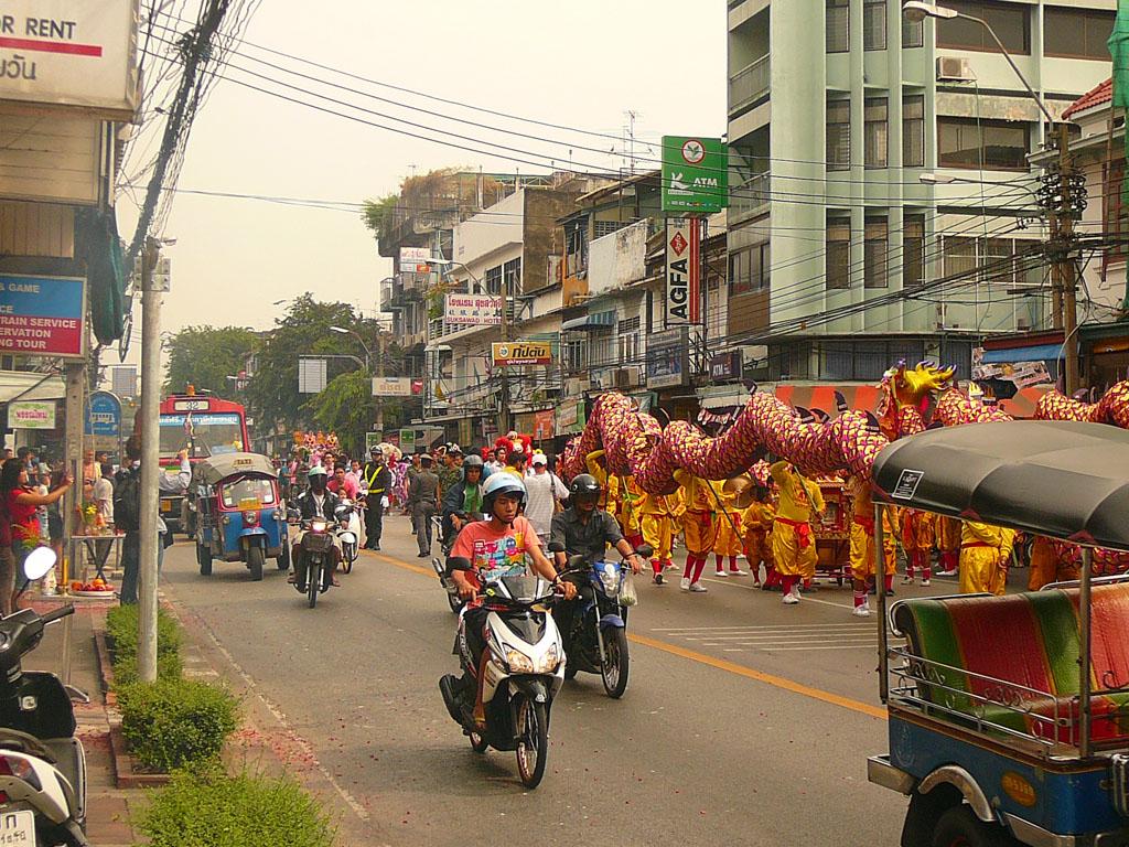 Разноцветный Бангкок :)