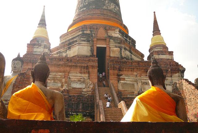 Temple, Autthaya, Thailand