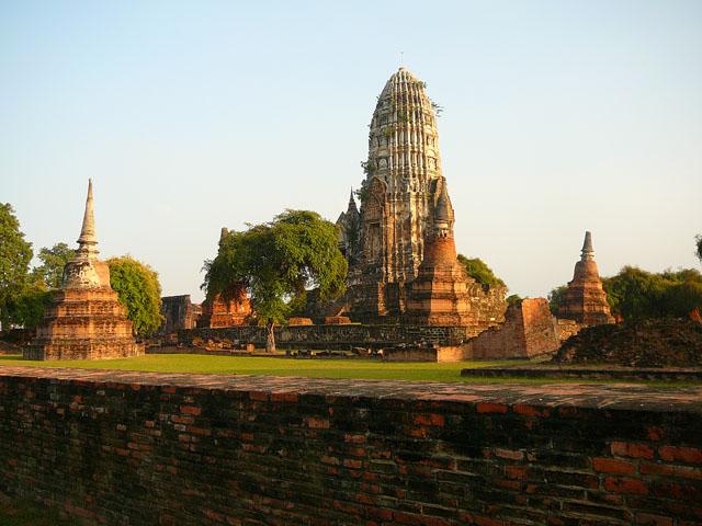 wat chaiwatthanaram, Autthaya, Thailand