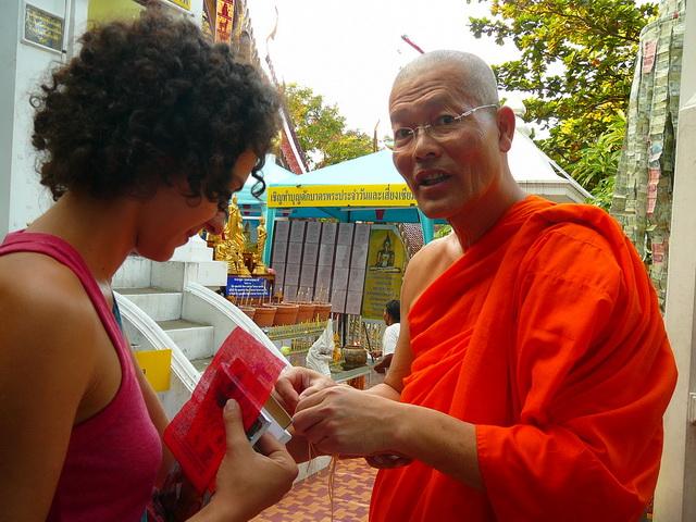 Монахи, Тайланд, Бангкок