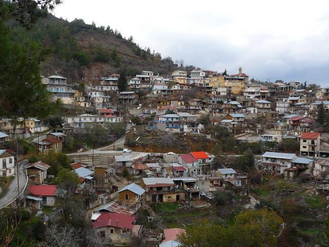Trodos-village