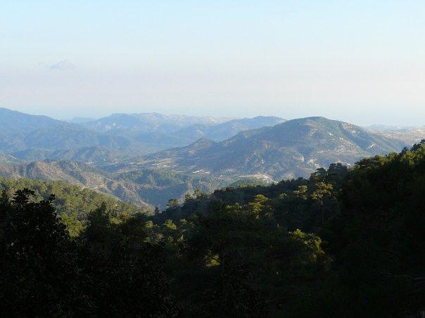 Горы, Кипр