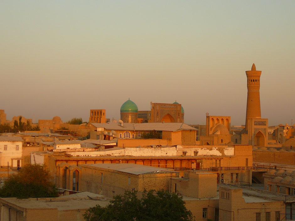 Узбекистан, Средняя Азия