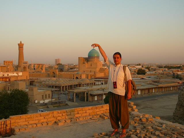Бухара крепость