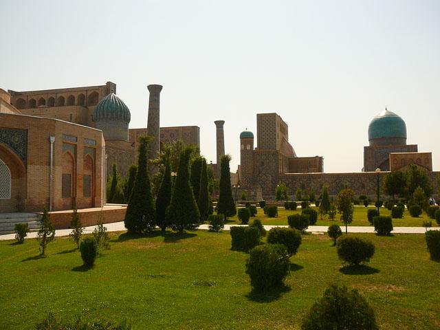 Самарканд, Регистан