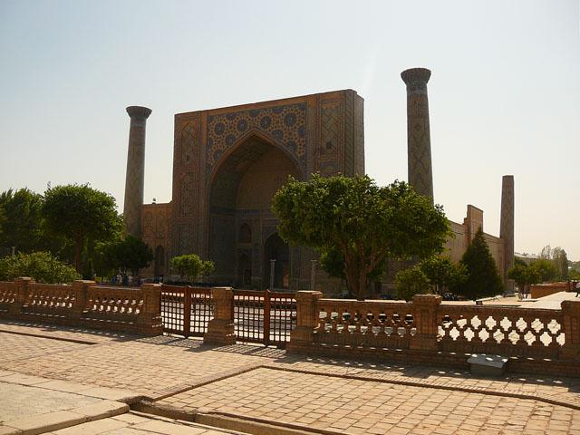 Святой Регистан Самарканд