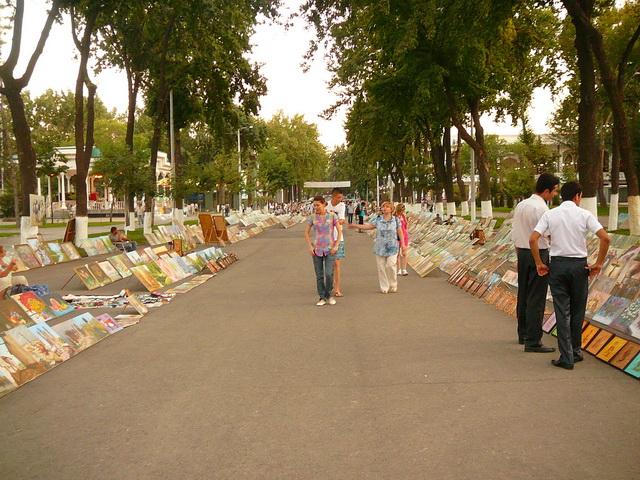 Ташкент, Бродвей