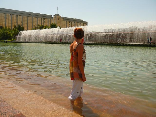 Фонтан, Ташкент