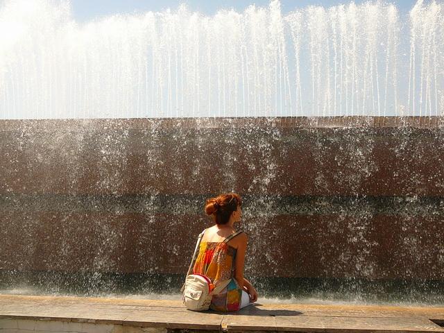 Ташкент, любимый фонтан
