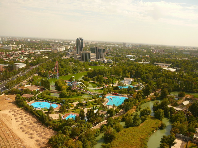 Ташкент, телебашня