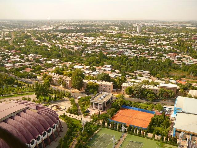 Ташкент, телебашни