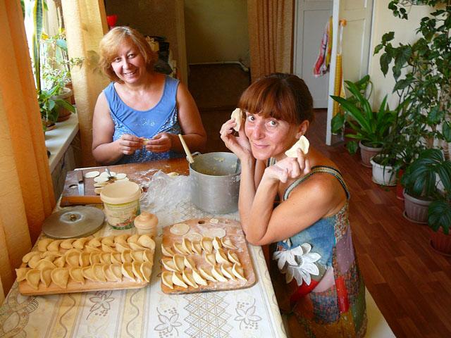 Варенники в Алмате