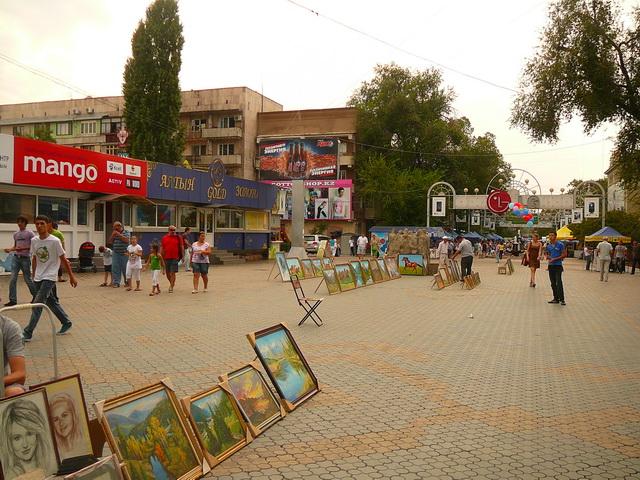 Улочки в Алматы