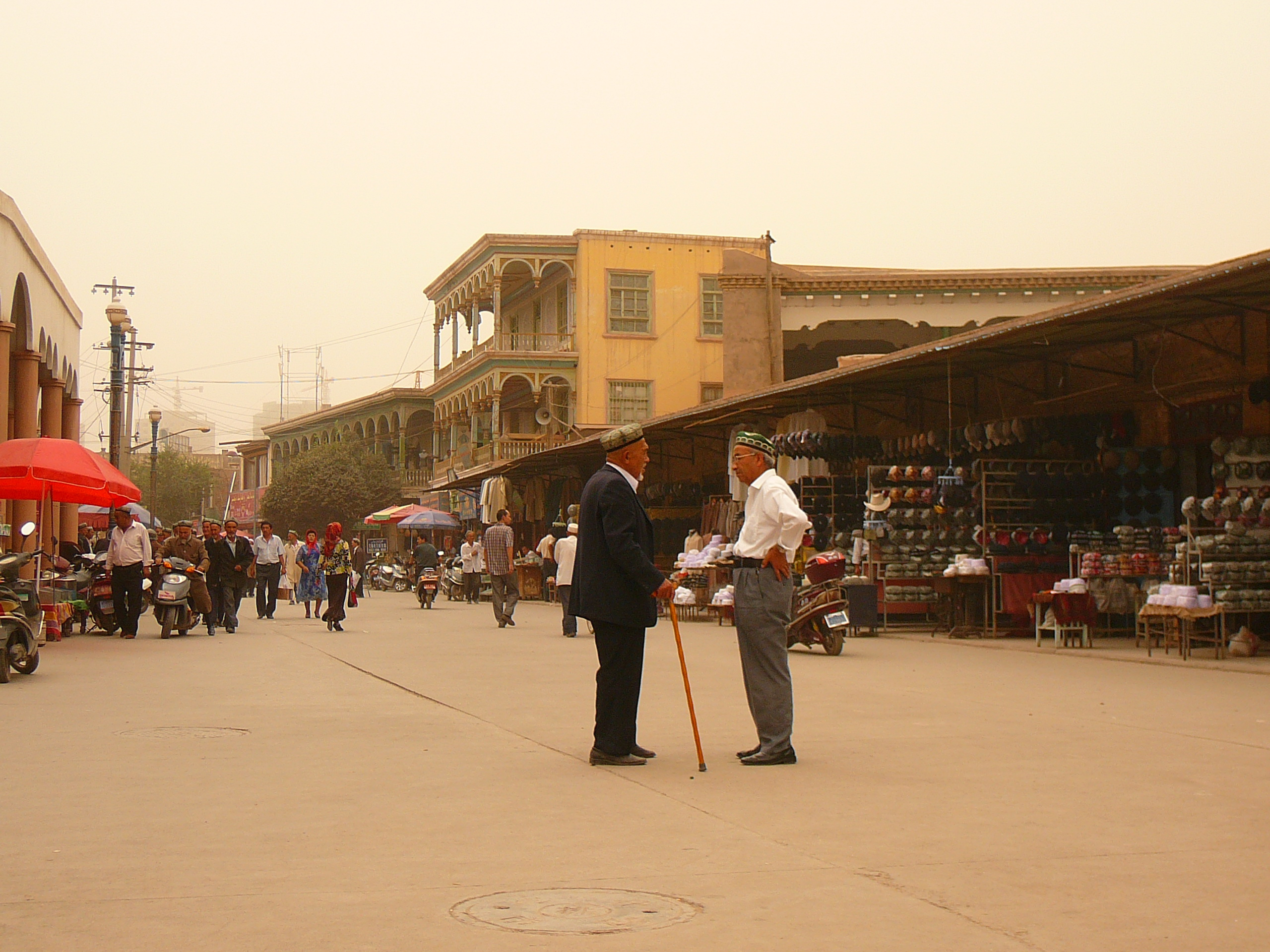 Уйгурия, Кашгар, Сидзян