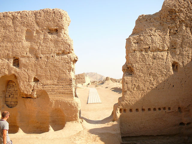 древний город Джао хе, Уйгурия, Китай