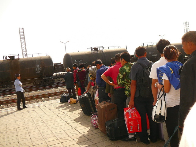 Китай, жд транспорт