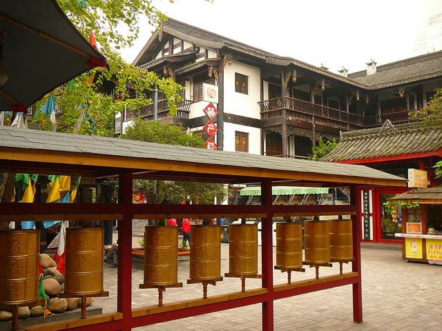 Jǐnlǐ Lùxiàn, 锦里路线 Chengdu