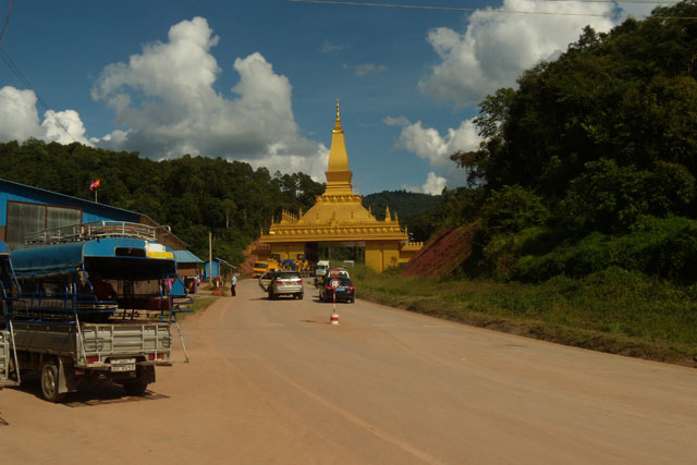 China - Laos border