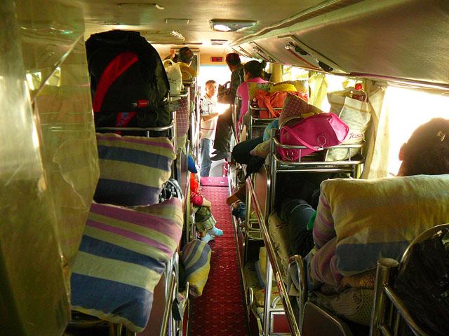sleeper bus china