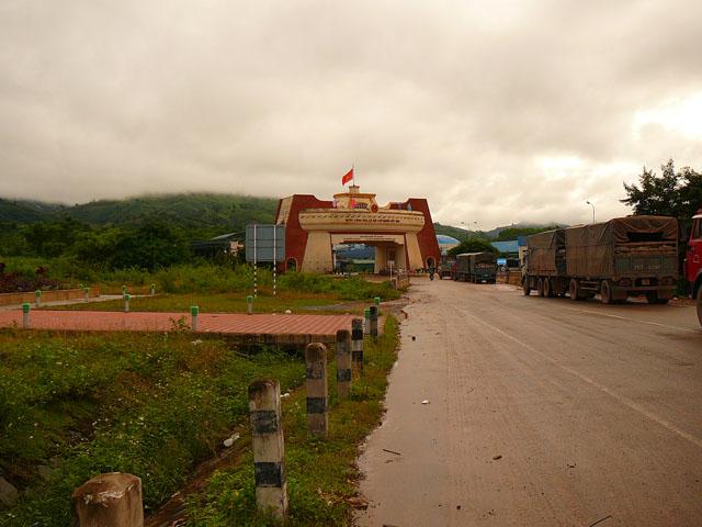 Laos-Vietnam border