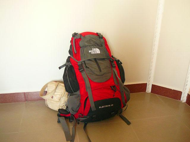 Рюкзак туристический 60 литров и сумочка для документов