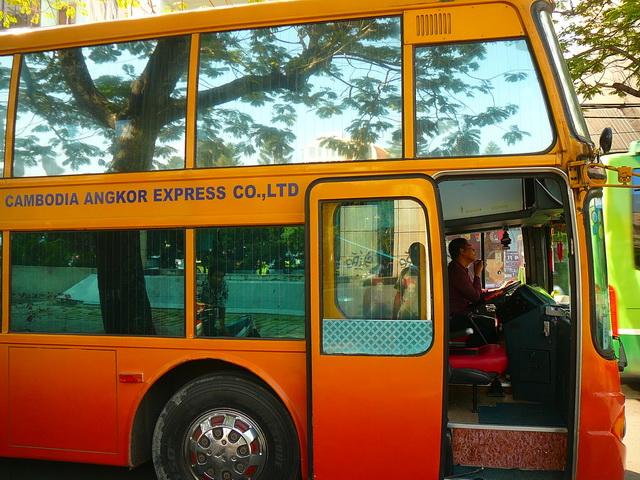 Из Хошимина в Пномпень на автобусе