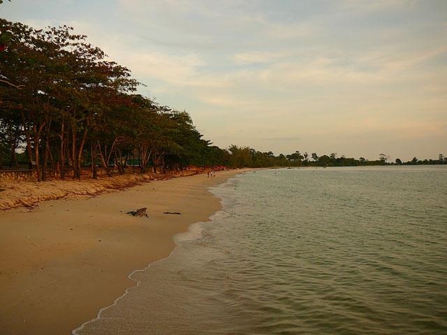 beach, Sihanoukville, Cambodia