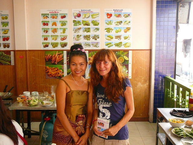 Cooking Thai class в Бангкоке