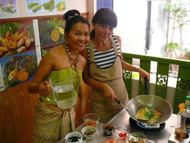 Курсы тайской кухни в Бангкоке