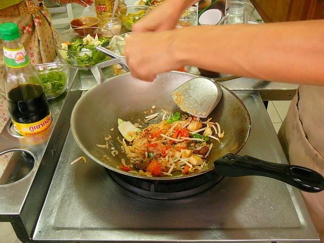 Готовим Pad Thai, тайская кухня