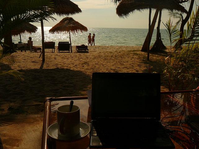 Пляж Отрес, Сиануквиль, Камбоджа, Юго-восточная Азия