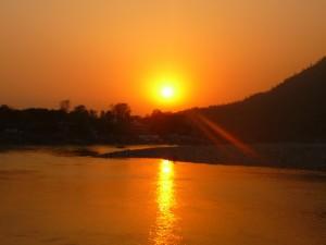 Ганга, Ришикеш, Индия