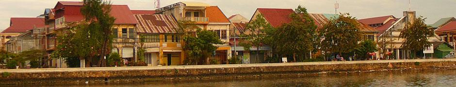 Кампот, Камбоджа, Юго-восточная Азия