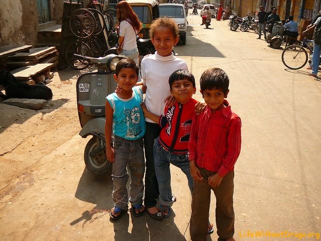 Индия, дети, Удайпур