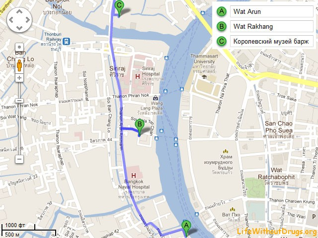 чем заняться в Бангкоке