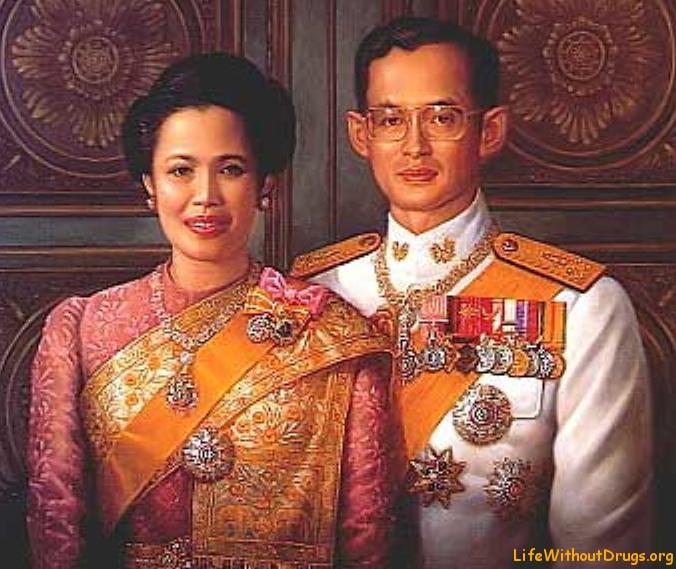 Королевская семья в Таиланда
