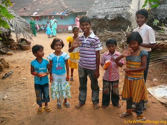 Индия, дети