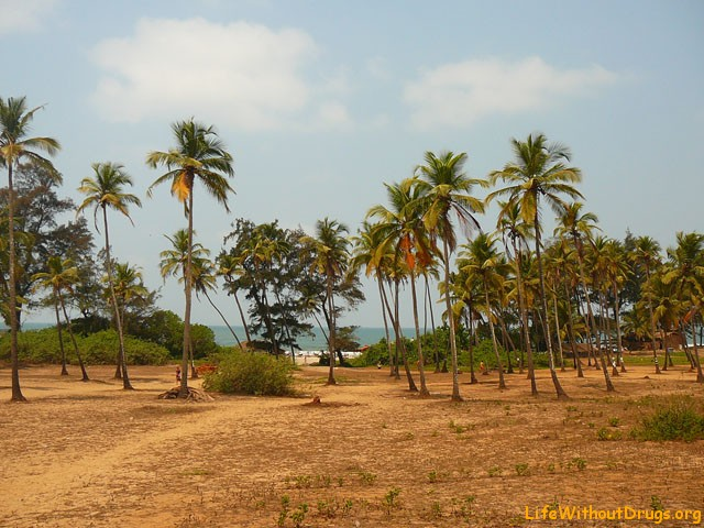 Арамболь, Гоа, Индия, Южная Азия