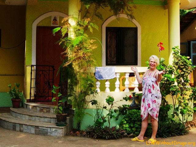Моя Мама в Гоа