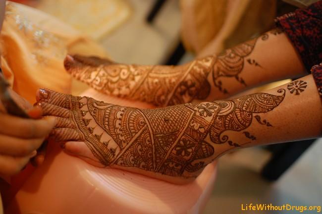 Менди (мехенди). Традиции и обычаи Индии